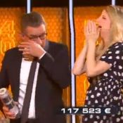 Christophe Dechavanne ému et en larmes dans The Wall !