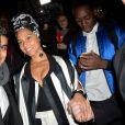 """Alicia Keys - Défilé de mode prêt-à-porter automne-hiver 2017/2018 """"Rick Owens"""" au Palais de Tokyo. Paris, le 2 mars 2017. © CVS/Veeren/Bestimage"""