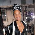"""Vera Wang et Alicia Keys - Défilé de mode prêt-à-porter automne-hiver 2017/2018 """"Rick Owens"""" au Palais de Tokyo. Paris, le 2 mars 2017. © CVS/Veeren/Bestimage"""