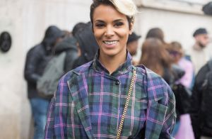 Fashion Week : Shy'm se tient à carreau face à la très sexy Kat Graham
