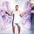 """Giuseppe des """"Anges 9"""" sur le tournage à Miami, Instagram, 2017"""