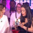 "Ayem Nour présente le nouveau single de Priscilla Betti - ""Mad Mag"" de NRJ12, jeudi 9 mars 2017"