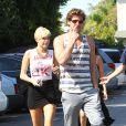 Miley Cyrus et Liam Hemsworth à Los Angeles le 11 septembre 2012