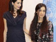 Amal Clooney, enceinte : Sublime face au secrétaire général de l'ONU