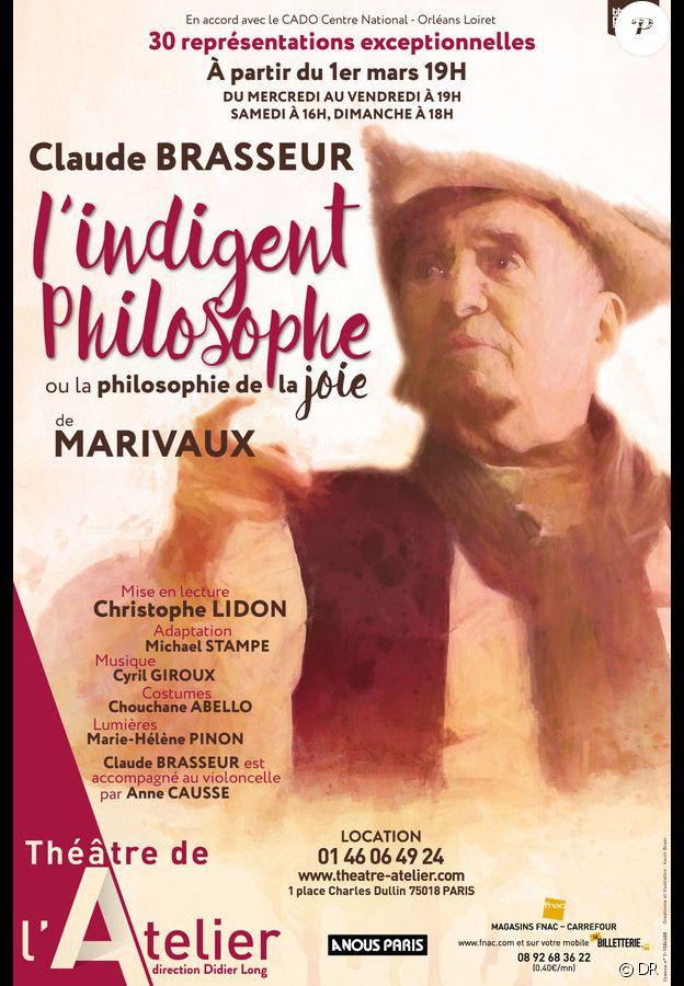 Claude Brasseur dans L'Indigent philosophe