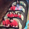 Britney Spears passe la journée à Disneyland en famille - Photo publiée sur Instagram le 13 mars 2017