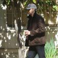 Exclusif - Ryan Gosling se promenant avec sa fille Esmeralda à Los Angeles, le 22 février 2017.