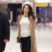 Amal Clooney enceinte de jumeaux : Une future maman infatigable et radieuse