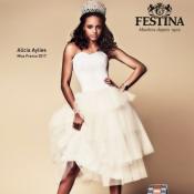 Alicia Aylies (Miss France 2017) : Égérie rock et chic des montres Festina