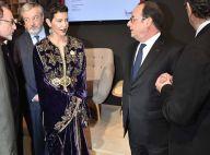 Princesse Lalla Meryem du Maroc : Lumineuse à Paris auprès de François Hollande