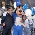 Alice Belaïdi et Gianni Giardenilli - 25e anniversaire de Disneyland Paris à Marne-La-Vallée le 25 mars 2017 © Veeren Ramsamy / BestimagE