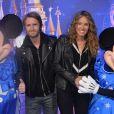 Philippe Lacheau et sa compagne Elodie Fontan - 25 ème anniversaire de Disneyland Paris à Marne-La-Vallée le 25 mars 2017 © Veeren Ramsamy / Bestimage