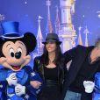 Franck Dubosc et sa femme Danièle - 25e anniversaire de Disneyland Paris à Marne-La-Vallée le 25 mars 2017 © Veeren Ramsamy / Bestimage