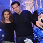 Faustine Bollaert et Maxime Chattam : In love face à Teri Hatcher à Disneyland