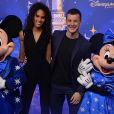 Cindy Bruna et son compagnon - 25 ème anniversaire de Disneyland Paris à Marne-La-Vallée le 25 mars 2017 © Veeren Ramsamy / Bestimage