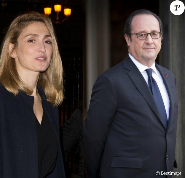 """Julie Gayet et François Hollande pris en flag' """"sortant d'un buisson"""", l'improbable anecdote."""