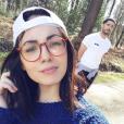 Agathe Auproux et son petit ami, le 27 mars 2017.