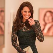 Kate Middleton : Divine en dentelle, soir de gala à la National Portrait Gallery