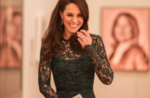 Kate Middleton : Divine en dentelle, soir de gala à la National Portrait Gallery