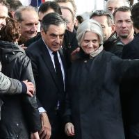 Fran ois fillon soutenu par son fils arnaud 15 ans - Francois busnel sa femme ...