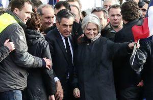 François Fillon soutenu par son fils Arnaud, 15 ans :