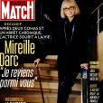 "Couverture du magazine ""Paris Match"" en kiosques le 30 mars 2017"