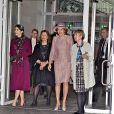 La princesse Mary de Danemark et la reine Mathilde de Belgique visitent l'ONU à Copenhague le 29 mars 2017. 29/03/2017 - Copenhague