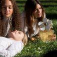 """Kaia Gerber prête son visage au parfum """"Daisy"""" de Marc Jacobs. Avril 2017."""