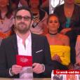"""Marie Portolano en couple avec Grégoire Ludig. Une révélation faite sur le plateau d'""""Il en pense quoi Camille ?"""" sur C8. Le 3 avril 2017."""