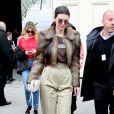 """Kendall Jenner à la sortie du défilé de mode """"Chanel"""" collection prêt-à-porter Automne-Hiver 2017/2018 au Grand Palais à Paris, France, le 7 mars 2017. © Agence/Bestimage"""