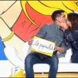 """Manon et Gabriel dans """"Les Z'amours"""" sur France 2, le 5 avril 2017."""