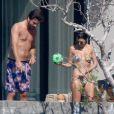 Exclusif - Kourtney Kardashian et Scott Disick à Los Cabos au Mexique le 12 novembre 2016.