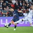 Javier Pastore - Match de football PSG-Guingamp (4-0) au Parc des Princes à Paris, le 9 avril 2017.