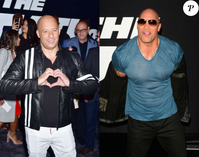 vin diesel parle enfin de sa brouille avec dwayne johnson. Black Bedroom Furniture Sets. Home Design Ideas
