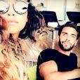 """Jessica Errero et Valentin Leonard des ""Marseillais"" en couple - Instagram, 2017"""