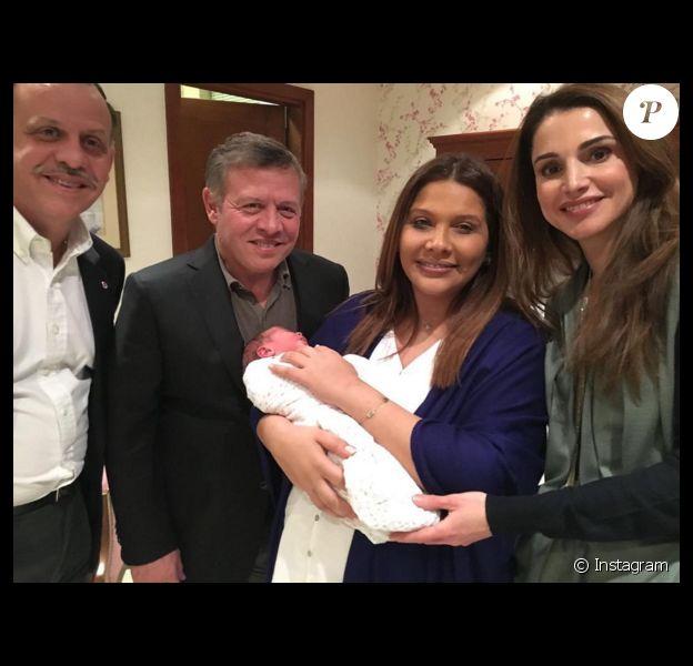Faisal Et Zeina De Jordanie Le Couple Princier A Eu Un Deuxieme Fils Purepeople