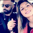 """Sarah Lopez des """"Anges 9"""" et Vincent Queijo en couple, Instagram, 2017"""