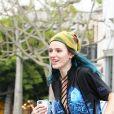 Bella Thorne semble avoir des problèmes d'acné alors qu'elle se rend chez un dermatologue à West Hollywood, le 21 février 2017