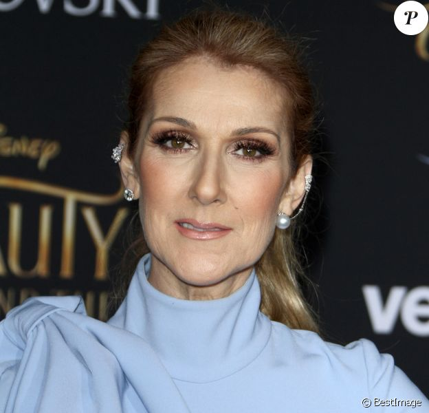 """Celine Dion à la première de """"La belle et la bête"""" à Los Angeles le 2 mars 2017."""