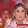 """Capucine Anav évoque ses retrouvailles avec Louis Sarkozy. Emission """"Il en pense quoi Camille ?"""", sur C8, le 15 avril 2017."""