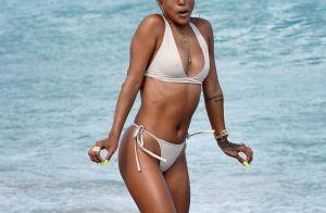 Karrueche Tran : Canon en bikini, sans son nouveau petit ami ?