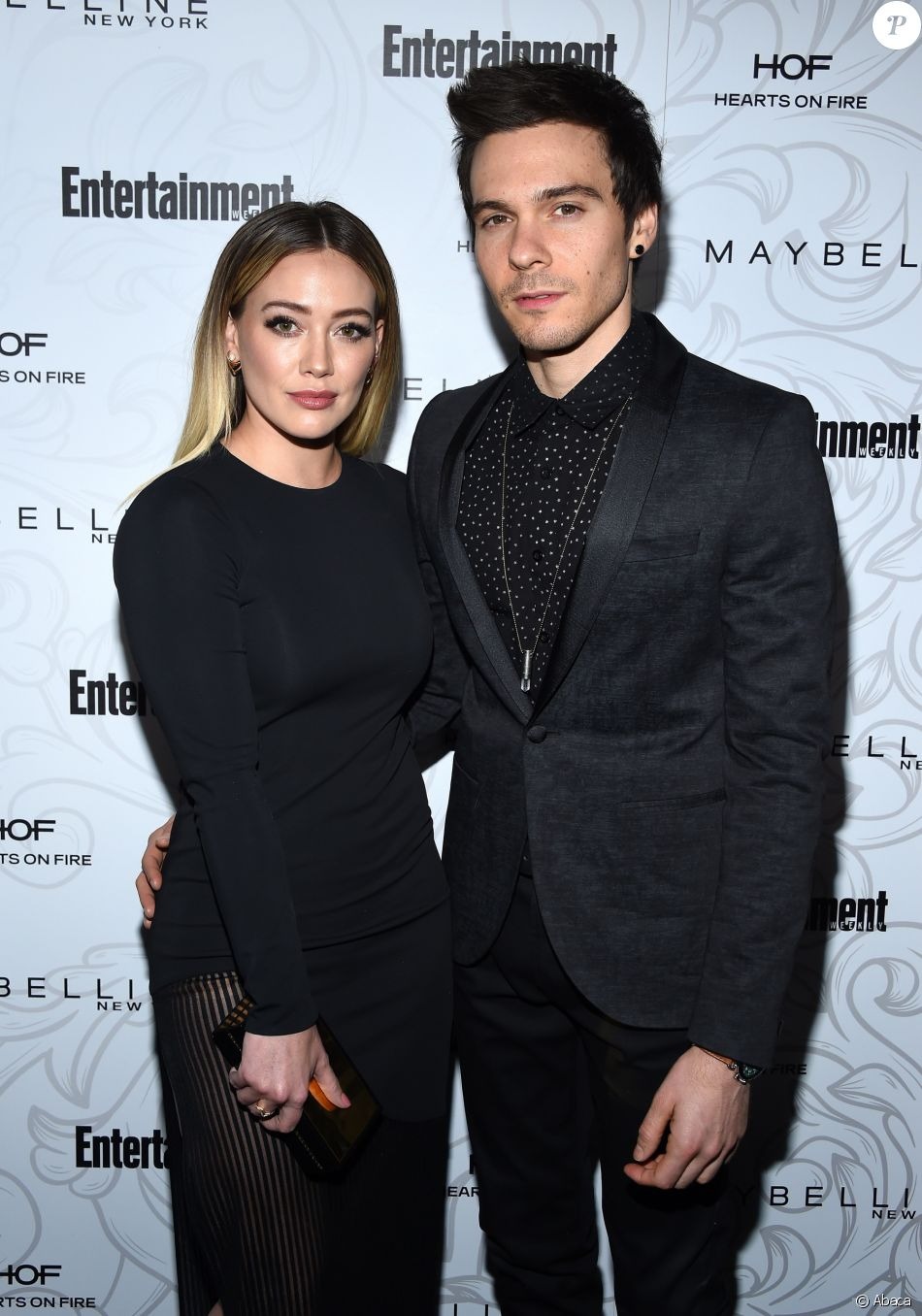 Hilary Duff et Matthew Koma - Soirée Entertainment Weekly pré-SAG Awards au Chateau Marmont à Hollywood le 28 janvier 2017