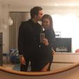 Hilary Duff et on nouveau compagnon Matthew Koma officialisent sur Snapchat le 27 janvier 2017