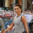 Eva Longoria et son mari Jose Baston à Madrid le 4 avril 2017.  Actress Eva Longoria and husband Jose Baston in Madrid on Tuesday 4 April 201704/04/2017 - Madrid