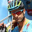 Michele Scarponi lors de la Vuelta 2016. Le coureur cycliste italien de l'équipe Astana a été tué samedi 22 avril 2017 par un camion lors d'une sortie d'entraînement près de chez lui dans la province d'Ancône.