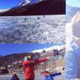 Michele Scarponi en famille à St Moritz début 2017, photo Instagram. Le coureur cycliste italien de l'équipe Astana a été tué samedi 22 avril 2017 par un camion lors d'une sortie d'entraînement près de chez lui dans la province d'Ancône.