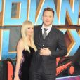 Anna Faris et son mari Chris Pratt à la première du film 'Les Gardiens de la Galaxie Vol. 2' à Londres, le 24 avril 2017