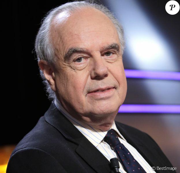 Portrait de Frédéric Mitterrand à Paris le 13 octobre 2016.