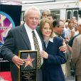 Anthony Hopkins et Jodie Foster à Hollywood le 25 septembre 2003.