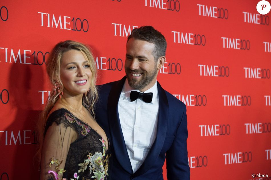 "Blake Lively et Ryan Reynolds - Soirée du ""TIME 100 Gala"" au Lincoln Center à New York le 26 avril 2017"